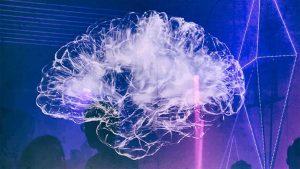 A brain on music